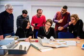 Die Familie von Braulia Canovas Mulero bei ihrem Besuch in Bad Arolsen im Dezember 2018.2