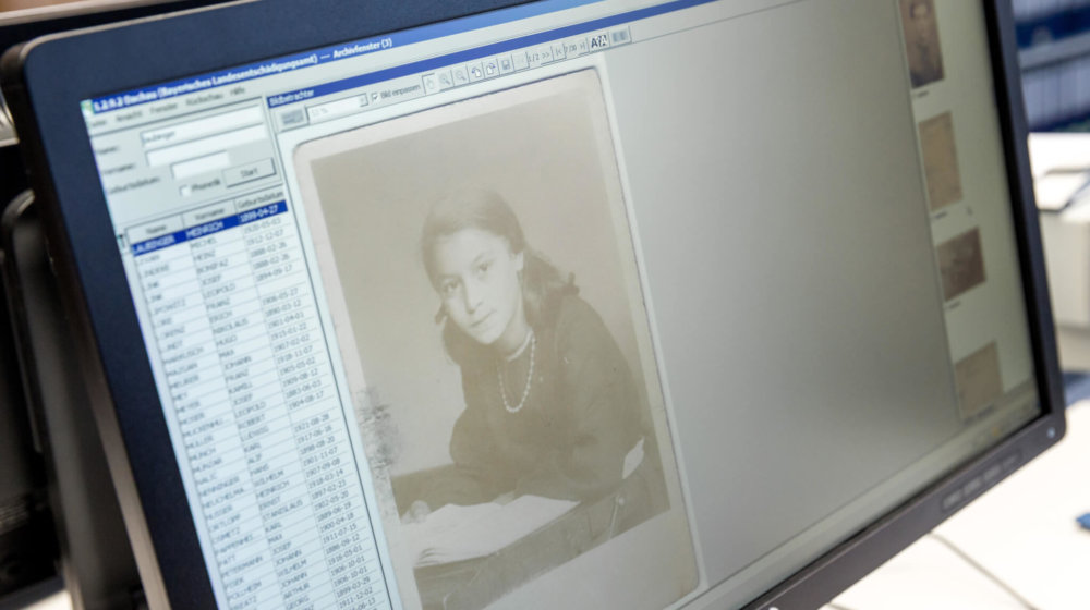 Remote access to Nazi archive