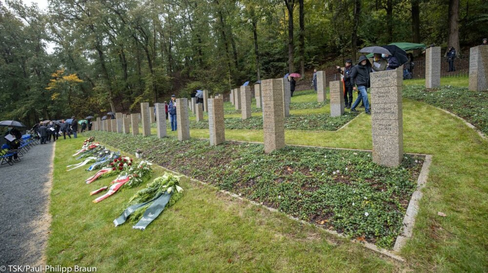 Burial site of concentration camp prisoners consecrated in Thuringia