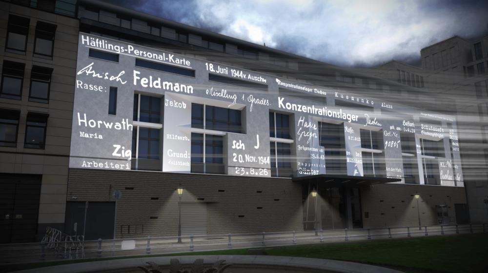 #everynamecounts: multimediale Installation in Berlin