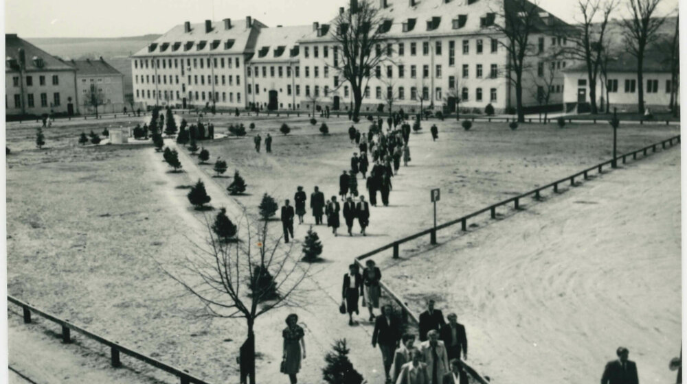 Displaced<br /> Persons in Arolsen after<br /> 1945