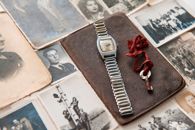 Father's watch runs again after 74 years