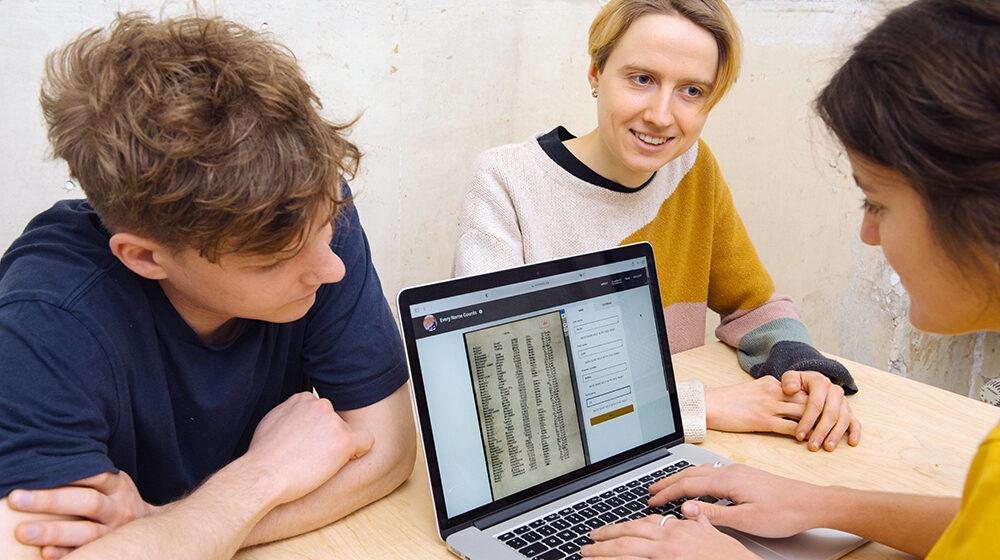 500.000 Namen mehr im Online-Archiv