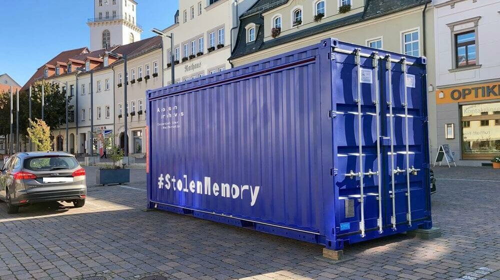 #StolenMemory Ausstellung in Frankenberg