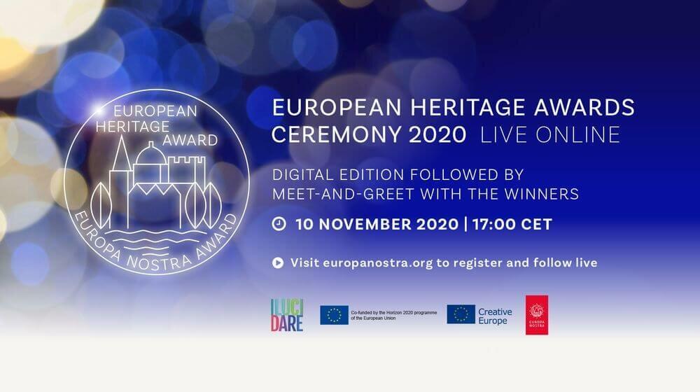 Festakt European Heritage Awards 2020