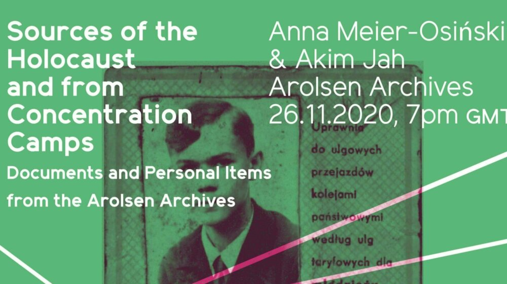 Online-Vortrag: Sources Of The Holocaust