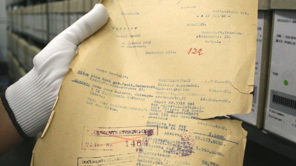 Fördergelder für die Restaurierung wichtiger Dokumente