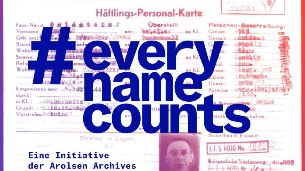 #everynamecounts: Pour ne jamais oublier leur nom
