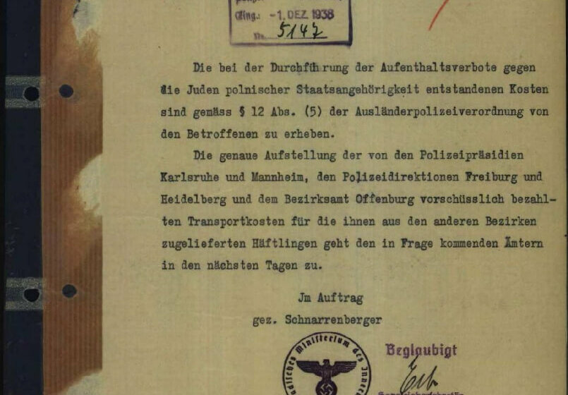 """The """"Polenaktion"""" 1938 – Learning with historical sources"""