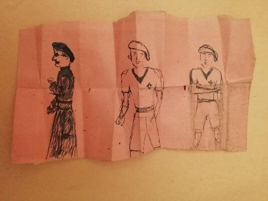 The Drawings of a Resistance Fighter