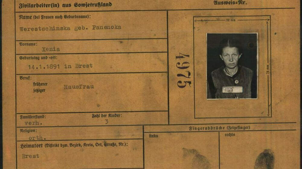 Nazi Forced Labor: History  and Aftermath